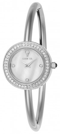 Women's Gabrielle Union Mother of Pearl Dial Stainless Steel Stainless Steel Band Quartz Watch