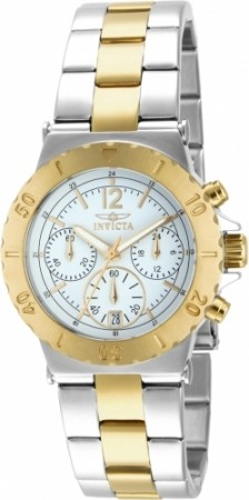 Women's Specialty White Dial Gold Tone, Stainless Steel Stainless Steel Band Quartz Watch