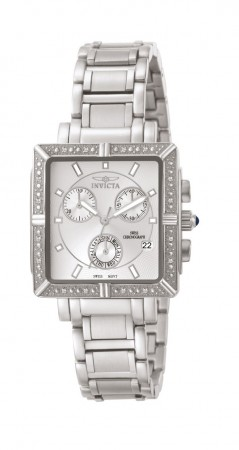 Women's Wildflower Silver Dial Stainless Steel Stainless Steel Band Quartz Watch