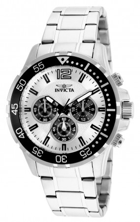 Men's Specialty Silver Dial Stainless Steel Stainless Steel Band Quartz Watch