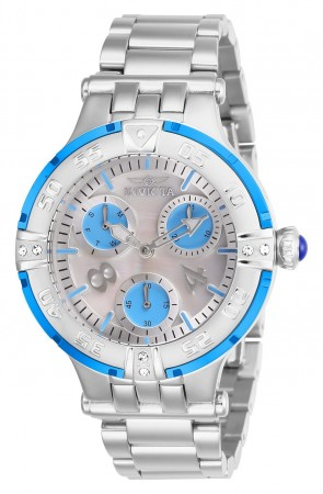 Women's Subaqua Silver Dial Stainless Steel Stainless Steel Band Quartz Watch