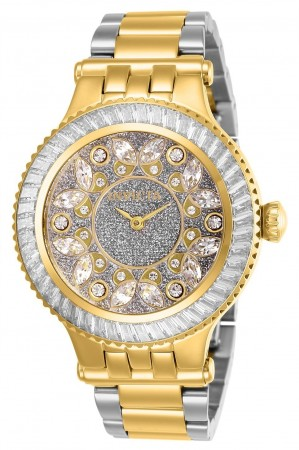 Women's Subaqua 3 Silver Dial Gold/Stainless Steel Stainless Steel Band Quartz Watch