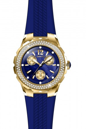 Women's Angel Blue Dial Blue Band Quartz Watch