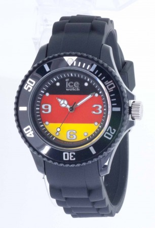 Unisex Ice-World Germany Big Multicolor Dial Watch