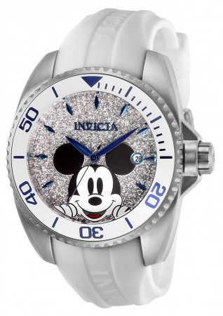 Women's Disney Silver Dial Stainless Steel Stainless Steel Band Quartz Watch