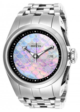 Unisex Bolt Silver Dial Black/Stainless Steel Stainless Steel Band Automatic Watch