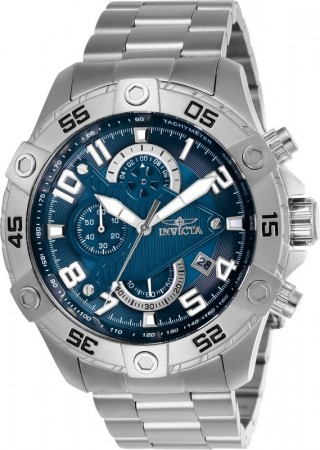 Men's S1 Rally Blue Dial Stainless Steel Stainless Steel Band Quartz Watch