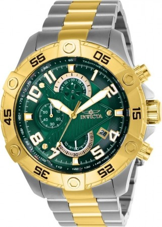 Men's S1 Rally Green Dial Gold/Stainless Steel Stainless Steel Band Quartz Watch