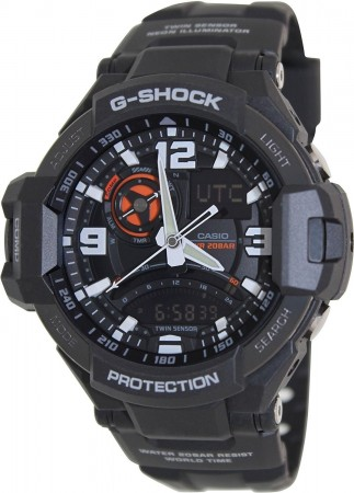 G-Shock Men's Black Dial Quartz Watch