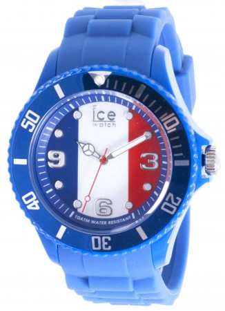 Men's Ice-World France Big Multicolor Dial Watch