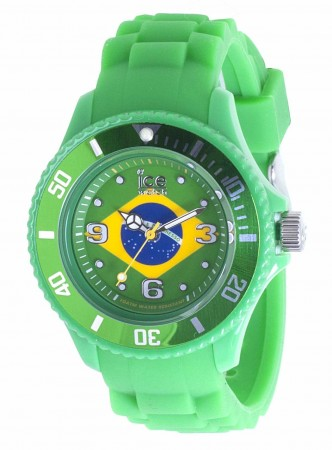 Unisex Ice-World Brazil Small Multicolor Dial Watch