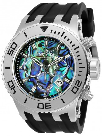 Men's Subaqua Blue Dial Black/Stainless Steel Stainless Steel Band Quartz Watch
