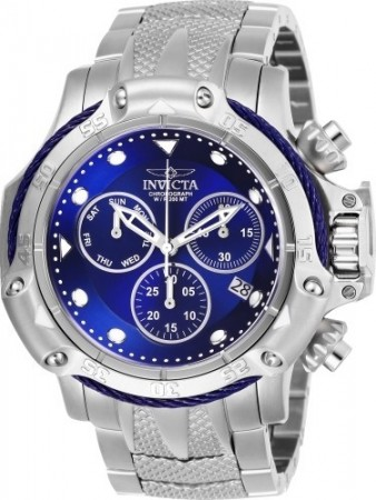 Men's Subaqua 3 Blue Dial Stainless Steel Stainless Steel Band Quartz Watch