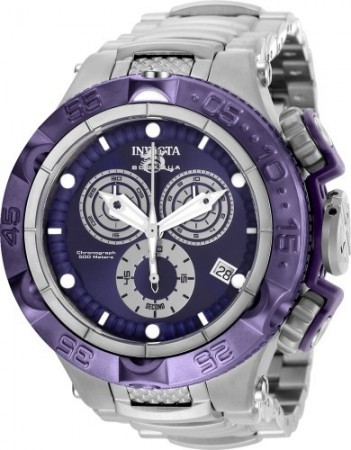 Men's Subaqua Noma V Purple Dial Stainless Steel Stainless Steel Band Quartz Watch