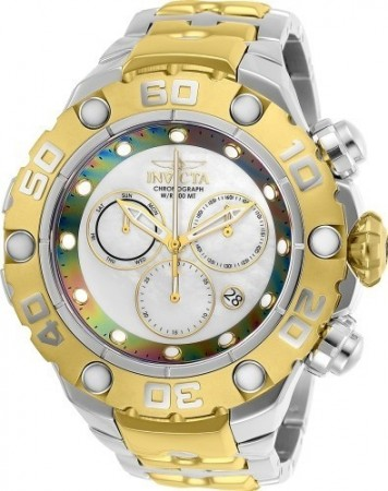 Men's Excursion White Dial Gold/Stainless Steel Stainless Steel Band Quartz Watch