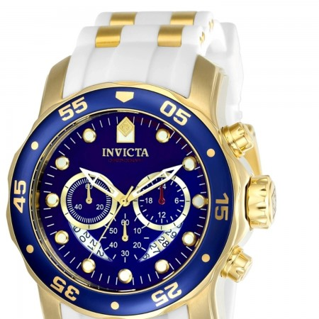 Invicta Men's 20288 Pro Diver Quartz Chronograph Blue Dial Watch