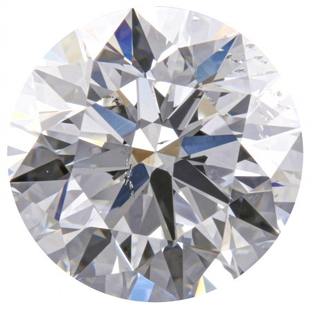 0.72 Carat D Color SI1 Clarity GIA Certified Natural Round Brilliant Cut Diamond