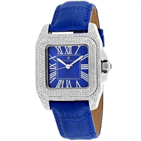 Women's Radieuse Blue Dial Blue Stainless Steel Case Back Band Quartz Watch