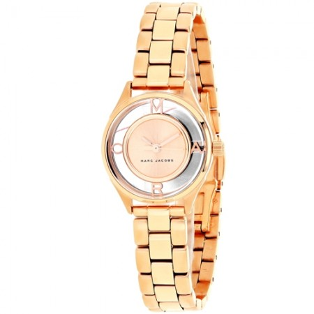 Women's Tether Rose Gold-Tone Dial Rose Gold-Tone Stainless Steel Band Quartz Watch