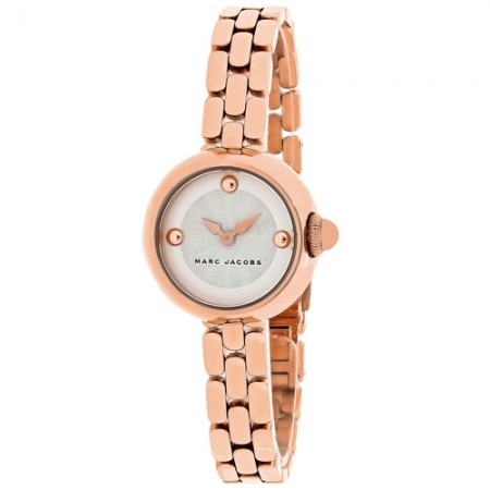 Women's Courtney White Dial Rose Gold-Tone Stainless Steel Band Quartz Watch