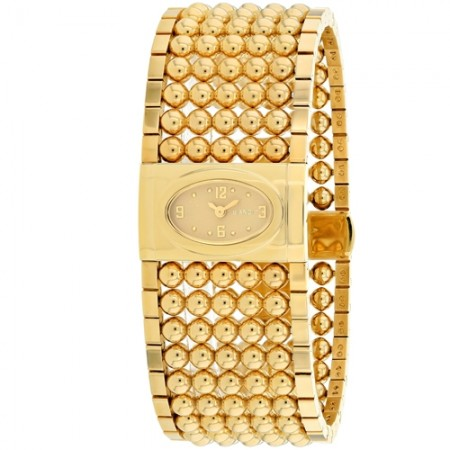 Women's Verona Gold-Tone Dial Gold-Tone Stainless Steel Band Swiss Quartz Watch