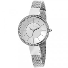 Women's Reign Gun Metal Dial Gun Metal Stainless Steel Band Quartz Watch