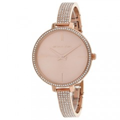Women's Jaryn Rose Gold Tone Dial Rose Gold Tone Stainless Steel Band Quartz Watch