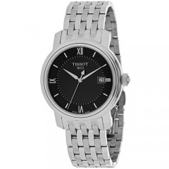 Men's Bridgeport Black Dial Gun Metal Stainless Steel Band Quartz Watch